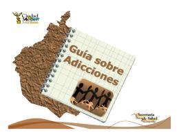 Guía sobre Adicciones