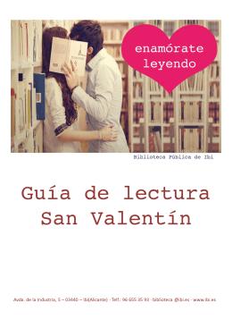 Guía de lectura San Valentín