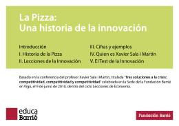 La Pizza: Una historia de la innovación