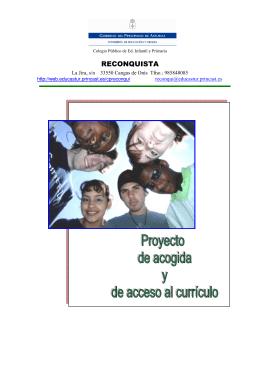 RECONQUISTA - Educastur Hospedaje Web