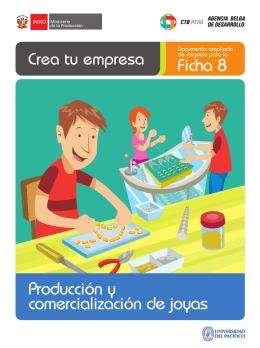 Producción y comercialización de joyas Ficha 8