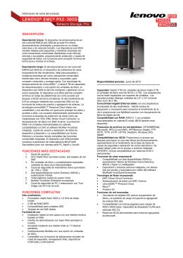 LENOVO® EMC® PX2-300D
