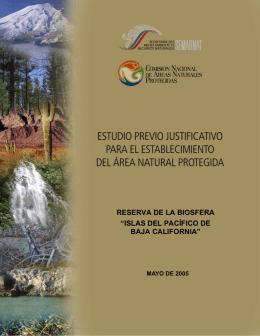 """reserva de la biosfera """"islas del pacífico de baja california"""""""