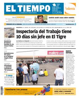 Inspectoría del Trabajo tiene 10 días sin jefe en El Tigre