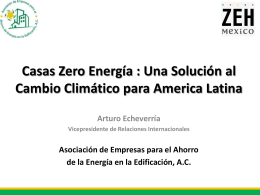 PROYECTO NET ZERO ENERGY HOUSING