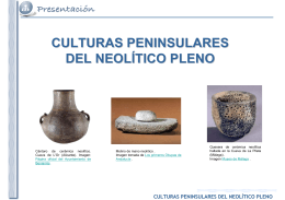 culturas peninsulares del neolítico pleno - E