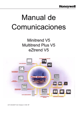 Manual de Comunicaciones - Honeywell Process Solutions