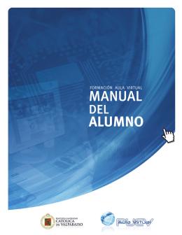 Descarga el Manual para Alumnos - Aula Virtual PUCV