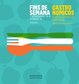 Fins de Semana Gastronómicos (2014-2015)