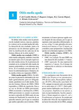 8. Otitis media aguda - Asociación Española de Pediatría