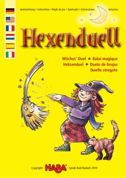 Witches` Duel Balai magique Heksenduel Duelo