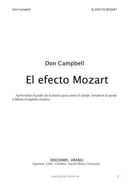 El Efecto Mozart - cienciasdelaeduciz