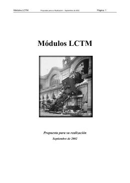 Módulos LCTM