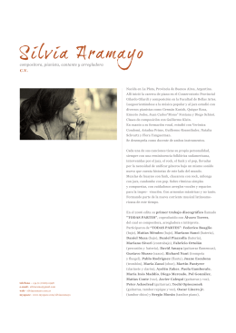 CV - Silvia Aramayo