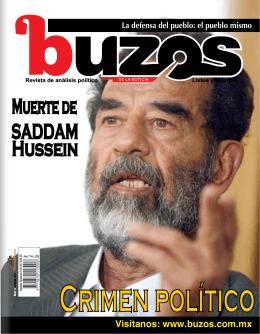 Muerte de SADDAM Hussein