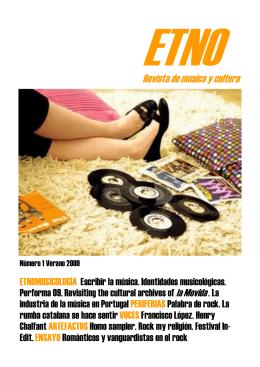 Documento relacionado ETNO. Revista de Música y Cultura. Nº 1