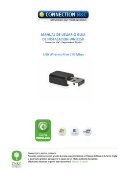 manual de usuario guia de instalacion wnu150