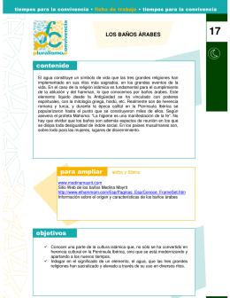 LOS BAÑOS ÁRABES - Fundación Pluralismo y Convivencia