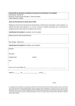 Descargar pdf - asociación española de antiguos alumnos de