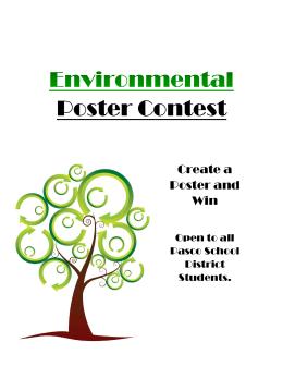 Poster Contest - Pasco School District