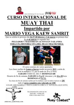 CURSO INTERNACIONAL DE