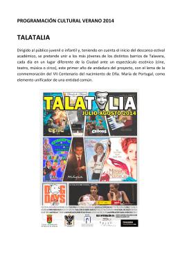 TALATALIA - Turismo Talavera de la Reina
