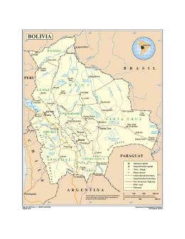 Mapa de Bolivia - the United Nations