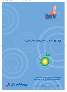 CASO COMPARATIVO – BP UK LPG