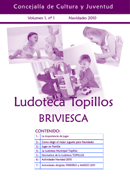 Revista Ludoteca Topillos
