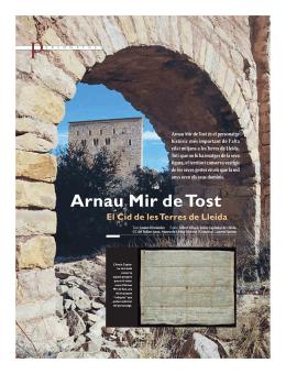 PDF, sobre Arnau Mir de Tost