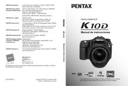 Manual Pentax K 10
