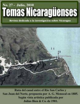 27 - Revista de Temas Nicaragüenses