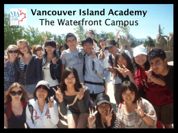 Malaspina High School at Vancouver Island University