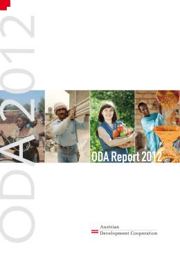 ODA Report 2012