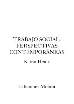 trabajo social: perspectivas contemporáneas