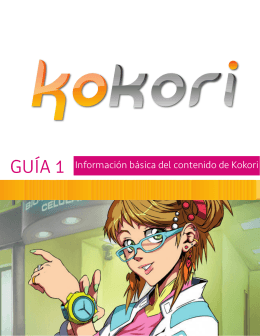 GUÍA 1 Información básica del contenido de Kokori