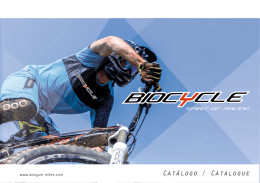 catálogo pdf - biocycle bikes