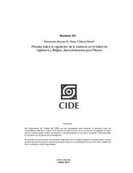 Plantilla Documentos de Trabajo 2011