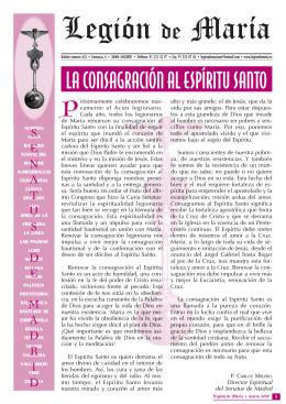 Boletín marzo 2009 - Legión de Maria.