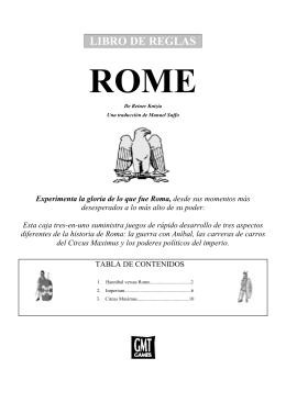 libro de reglas rome