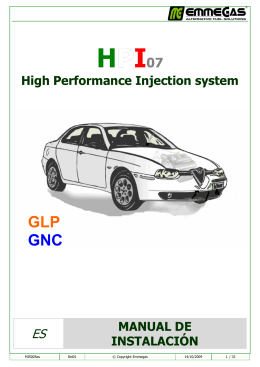 GLP GNC - Emmegas