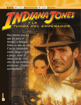 Descargar Indiana Jones y la Tumba del Emperador