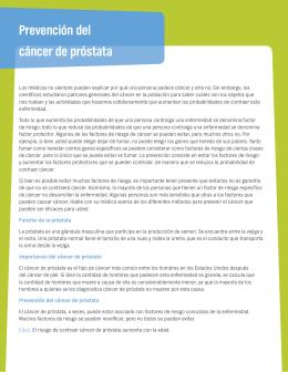 Prevención del cáncer de próstata - Time Well Spent