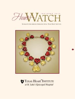 un boletín para médicos producido por el texas heart institute