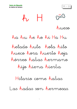 metodo de lectoescritura letra h