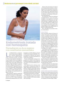 Endometriosis tratada con homeopatía