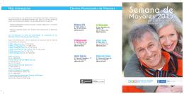 Semana de Mayores 2015 - Lavozdelaexperiencia.com