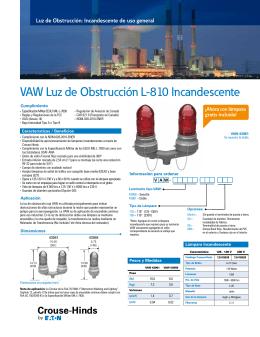 VAW Luz de Obstrucción L-810 Incandescente - Crouse