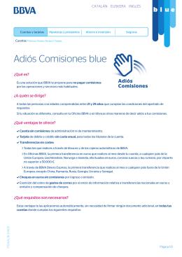 Adios Comisiones BLUE
