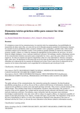 Elementos teórico-prácticos útiles para conocer los virus - e-Lis